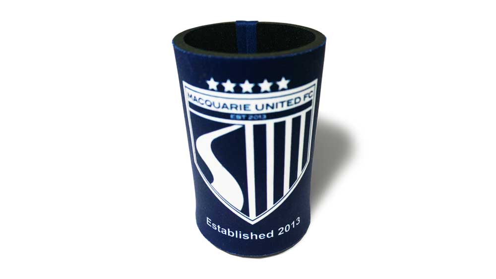 MUFC Stubbie Holder – Blue – $10