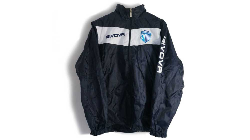 MUFC Spray Jacket – $40