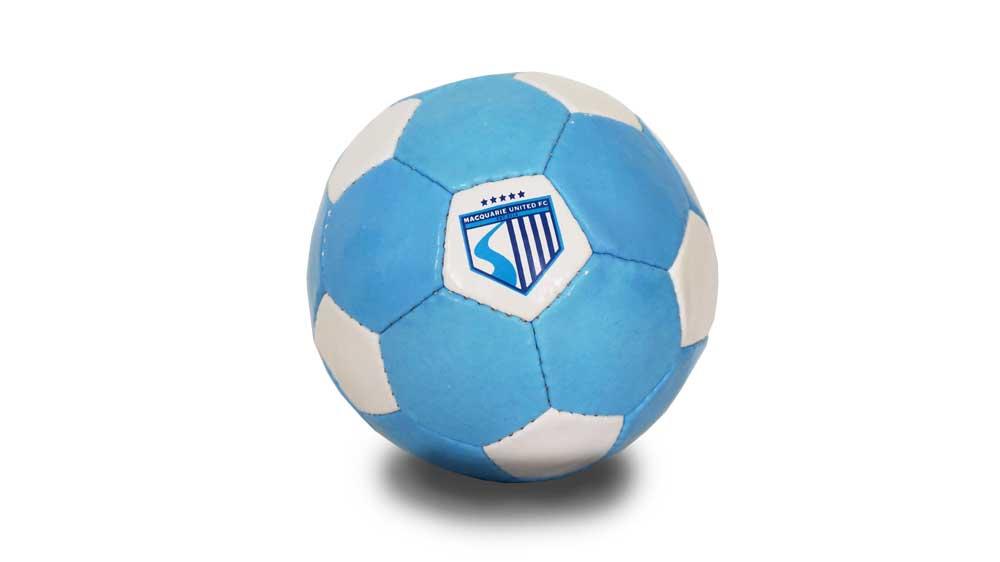 MUFC Mini Soccer Balls – $10